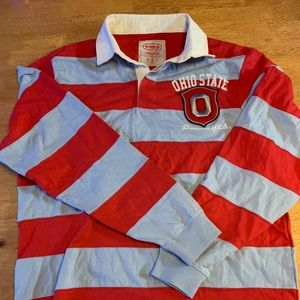 Coca Cola Ohio State rugby polo shirt size XL